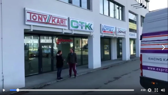 OTK Kartcenter Schweiz - Tony Kart Exprit Kart